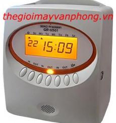 Máy chấm công thẻ giấy SEIKO QR6561
